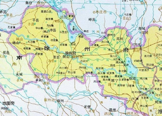 江苏地�_古九州之一徐州,如今是江苏地级市,交通四通八达