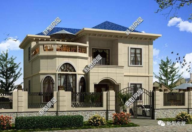 农村盖别墅,这4点一般别墅都不装修你,告诉不返工更国外现代电工图片图片