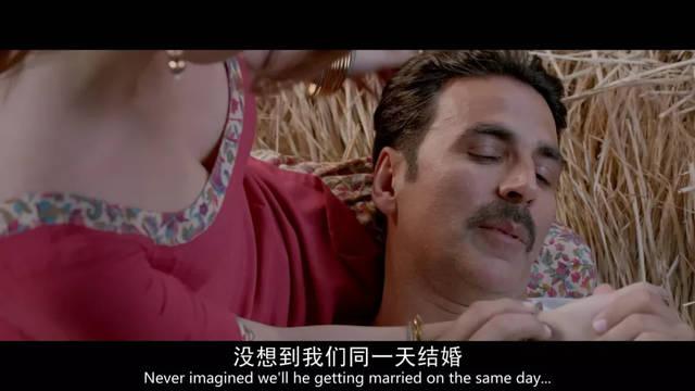 印度电影擅长的歌舞戏也玩砸了,歌词在保留土味的同时还带有一丝sm