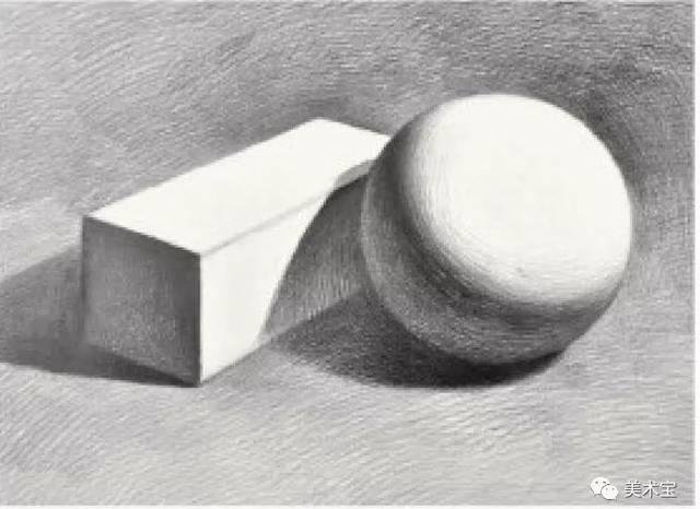 步骤4:着重刻画黑白灰关系,暗部画出层次,反光面要体现出物体与物体