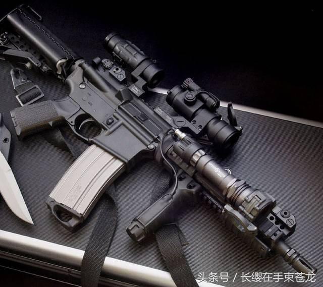 m16pw_美国m16步枪 精确度高 后坐力小 重量轻