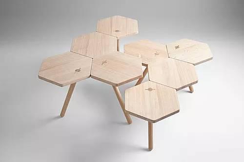创意满满的多功能桌,真的很会节省空间