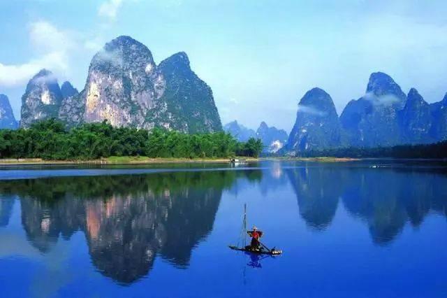 广西-桂林漓江风景