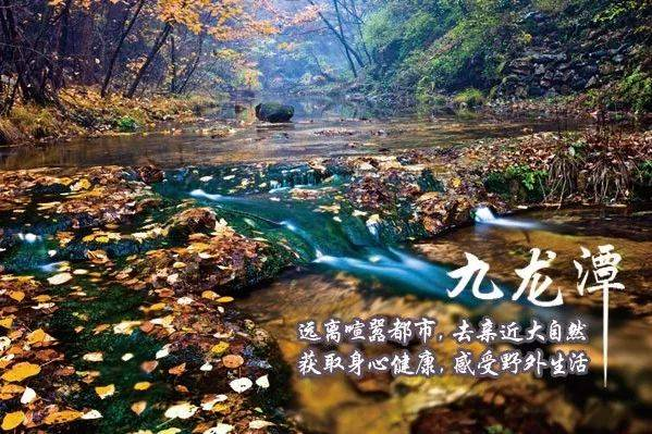 """九龙潭自然风景区面积约30平方公里,动植物资源十分丰富,曾是清东陵"""""""