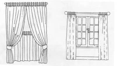 cad窗帘图例平面图