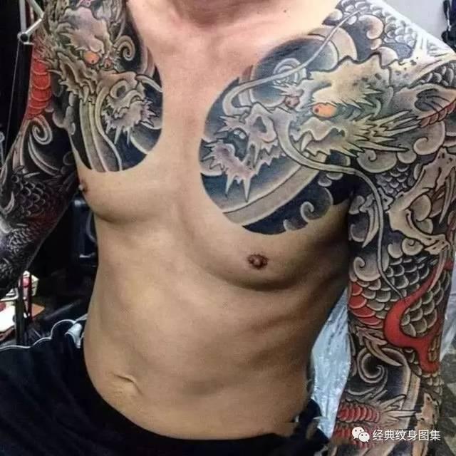 过肩龙@过肩龙纹身素材35张图片