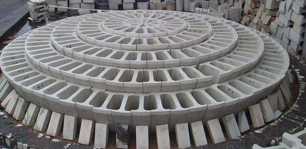 陶瓷球拱结构是怎样的图片