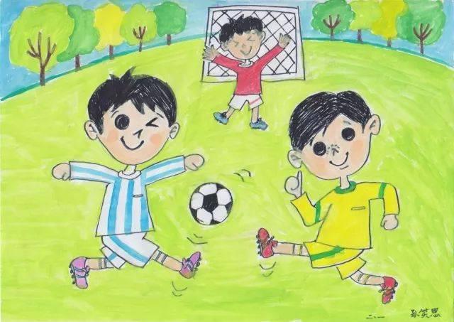 六足球三班本次年级文化节,学校还从同学们上交的节徽v足球,绘画足球室内设计孙易杭州图片