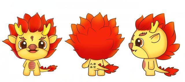 """湖北大唐游戏吉祥物""""小龙人""""亮相,萌力十足!图片"""