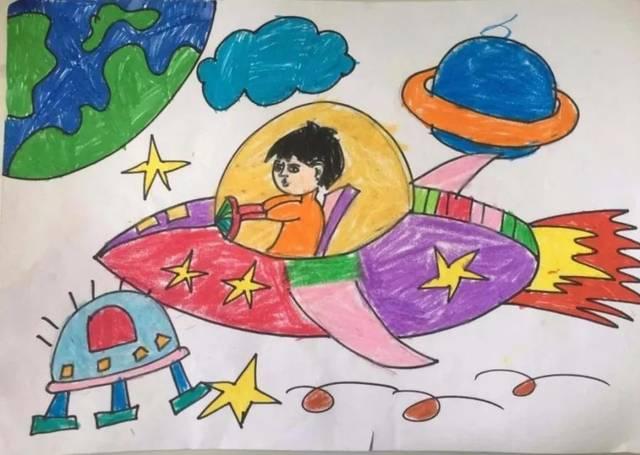 """""""新世纪广场""""杯""""未来科学家""""科幻画作品展示及家长寄语(三)"""