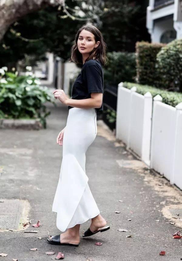 衣服越来越薄的夏季,梨形身材怎么穿显瘦?图片