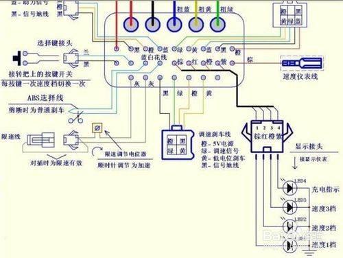 遥尔泰:电动车控制器接线图详解