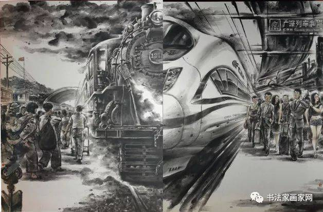 """""""美丽之窗""""深圳改革开放40年优秀美术作品展部分作品图片"""