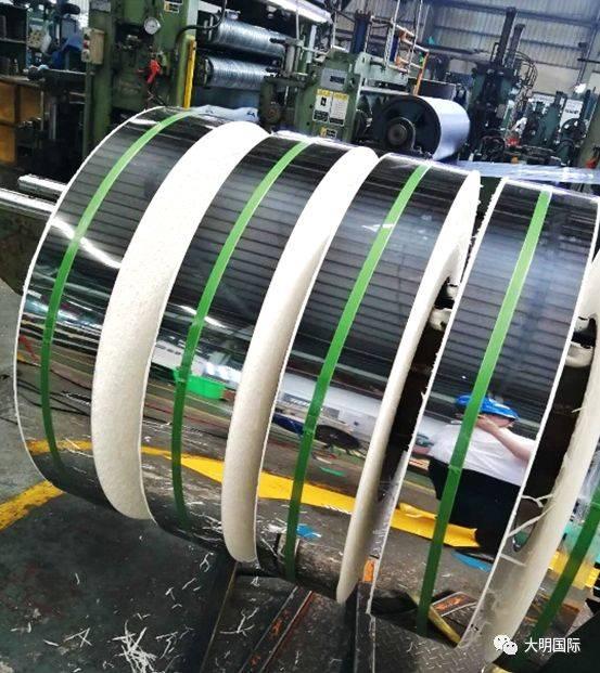 大明杭州加工中心圆满完成430ba出口订单-科技频道