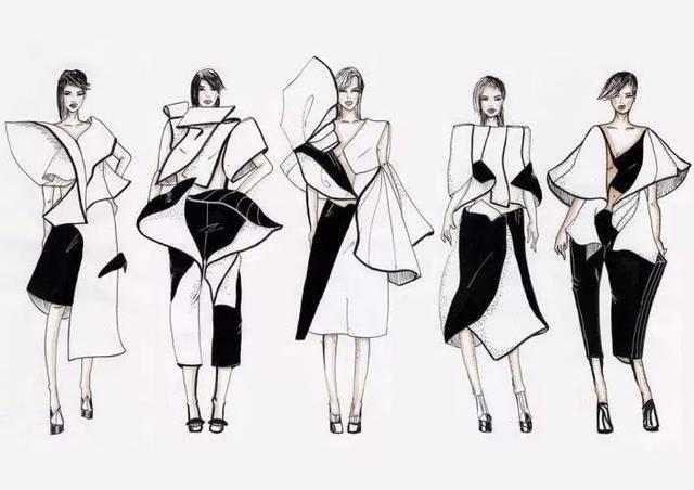 80例国外服装设计效果图!(不求画好追求想法与创意)图片