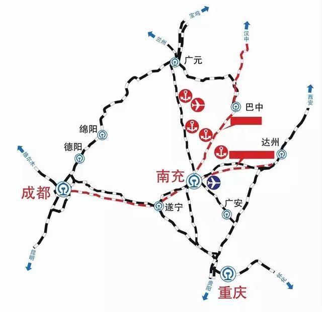 敦白高铁平面图