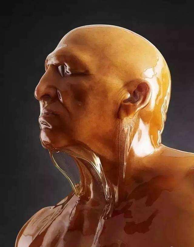 亚州美妇人体艺术_蜂蜜浇灌后拍下的人体艺术照!