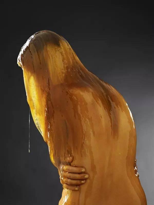 类似于人体艺术的_蜂蜜浇灌后拍下的人体艺术照!