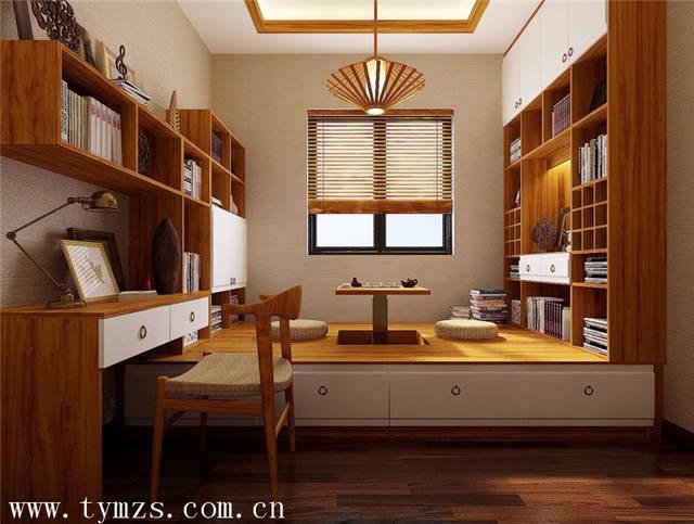 如果家里有安装地暖,那么榻榻米之下的空间就不宜作为储物空间了,对储图片
