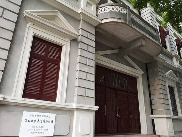 黎黄陂路,武汉一条欧式建筑连片的步行街图片