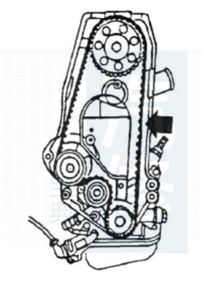 【精华】别克雪佛兰发动机正时皮带安装示意图