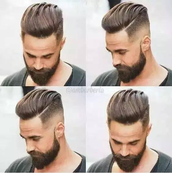 还是人家外国男的城会玩,起码有那个自信来留这种发型.图片