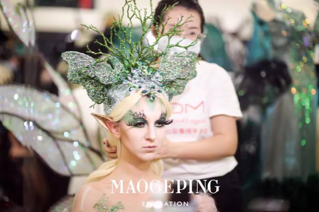 分享一组超棒的创意彩妆造型图片