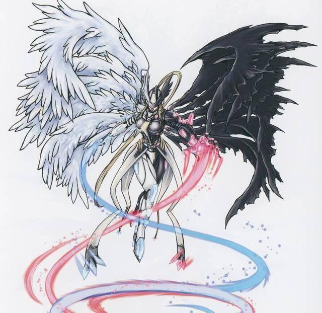 即使合体进化成为混沌神魔兽也是很棒的设定,看上去也是超级的漂亮和