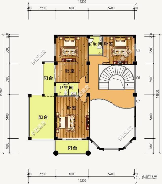 农村建房堂屋怎么能少的了呢,5款带堂屋的别墅点燃你的心!
