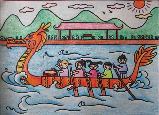 赛龙舟,洗龙湫水图片