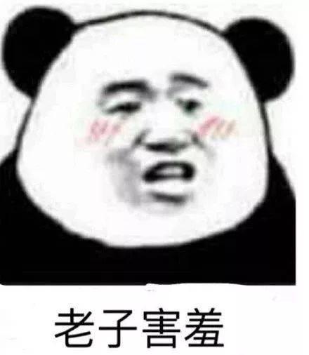 人见人爱的熊猫人表情包