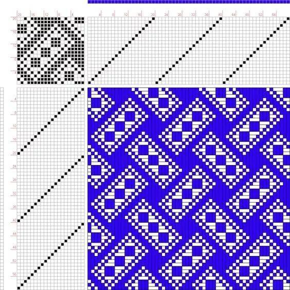 波浪编织花样过程图解