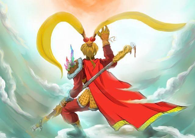 """西游记里的""""孙悟空""""是对情色免疫,四大皆空的武者,在大话西游和悟空"""