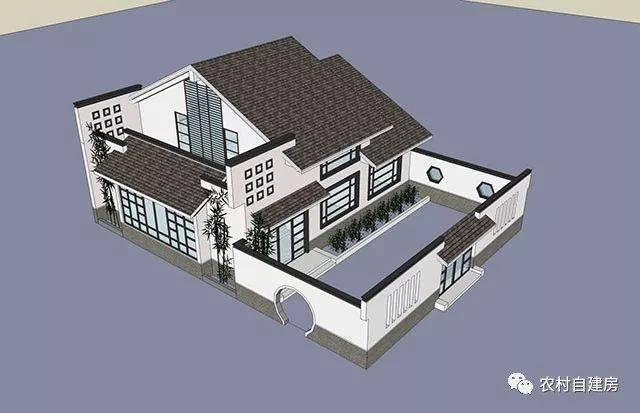 15款中式农村别墅 这才叫纯正的中式别墅