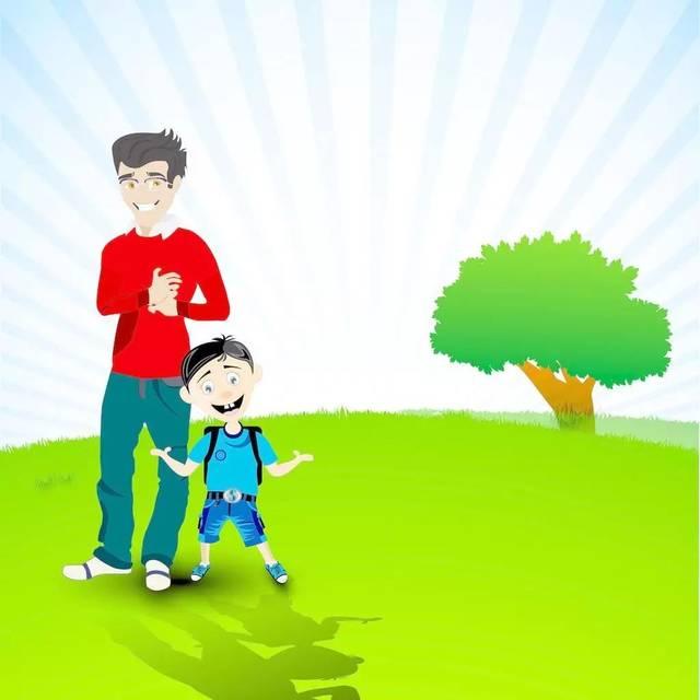 父亲节我想《和爸爸在一起》,虽然《爸爸你很忙》,但今天我希望是专属