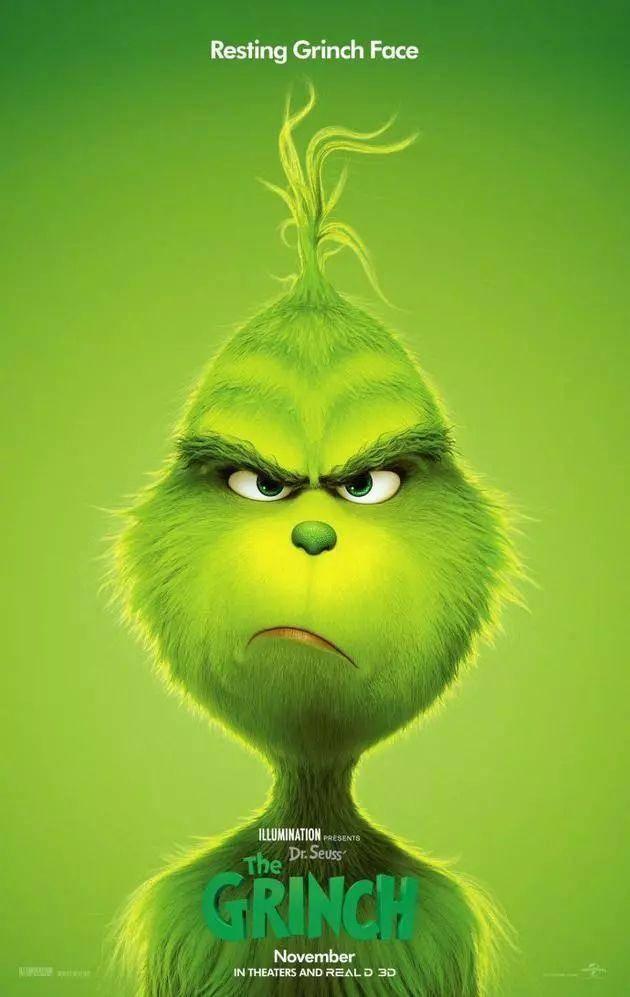《绿毛怪格林奇》发布新预告 本尼献声圣诞怪杰