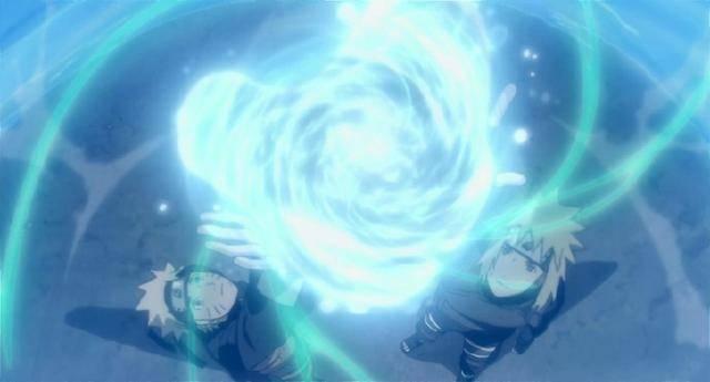 火影忍者:劇場版里最帥的5種螺旋丸,鳴人不靠別人只能圖片