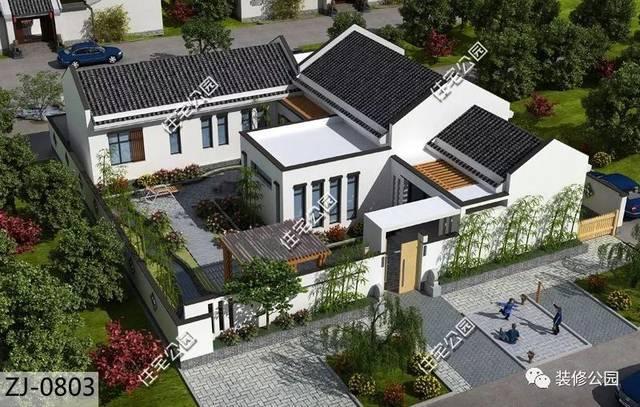 别墅全景平面设计图