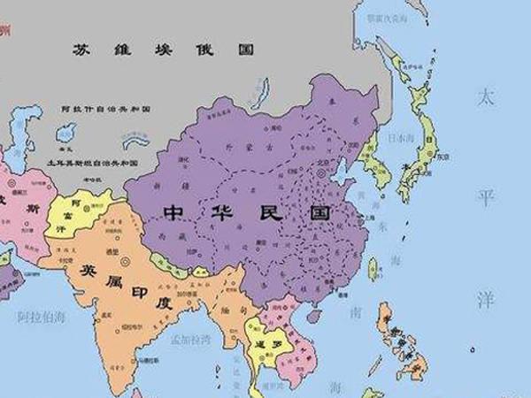 东南亚国家_二战小知识:只有三个国家的东亚和东南亚,中国仅有五个邻国