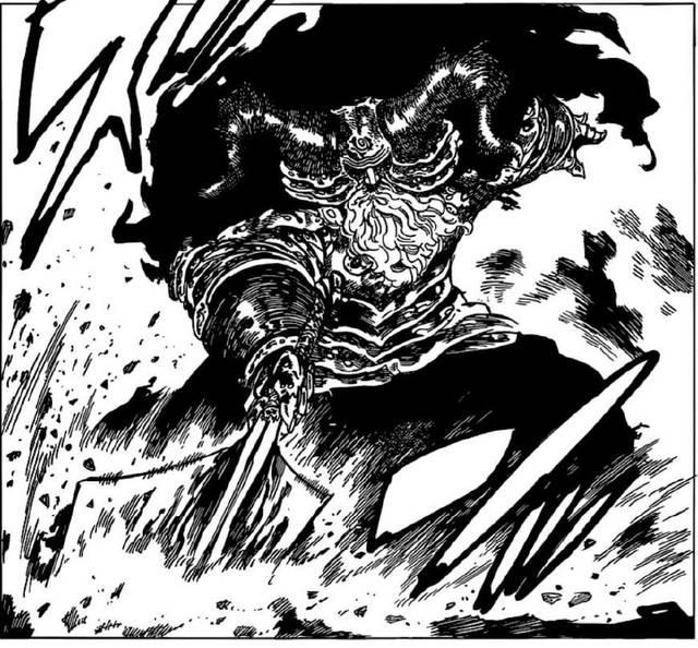 七大罪272话:魔神王的魔力被揭露,轻松碾压团长,却被高瑟戏弄
