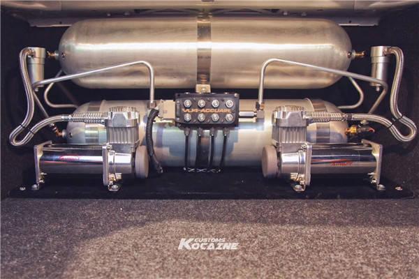 关于宝马5系改装气动避震悬挂你知道多少?图片