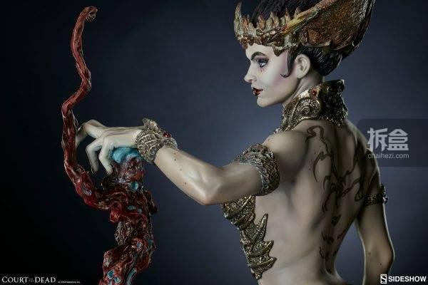 sideshow《死亡法庭》死亡女神2.0:血肉塑造者 pf雕像
