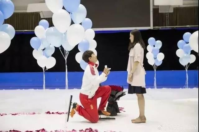 韩天宇和刘秋宏结婚了!在这拍婚纱照美炸天际图片
