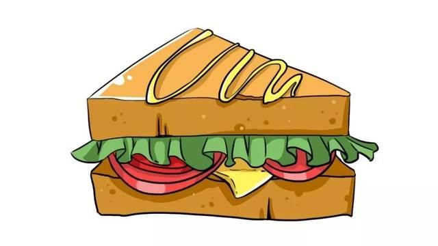 教程三:芝士三明治图片