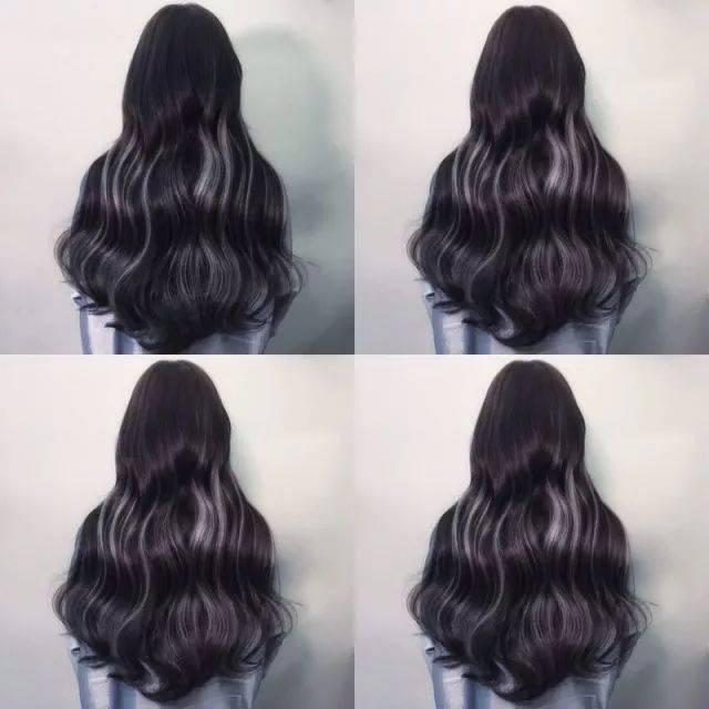 接出的头发不会打柳,跟自己的头发能很好的衔接,很难看出接发的痕迹.图片