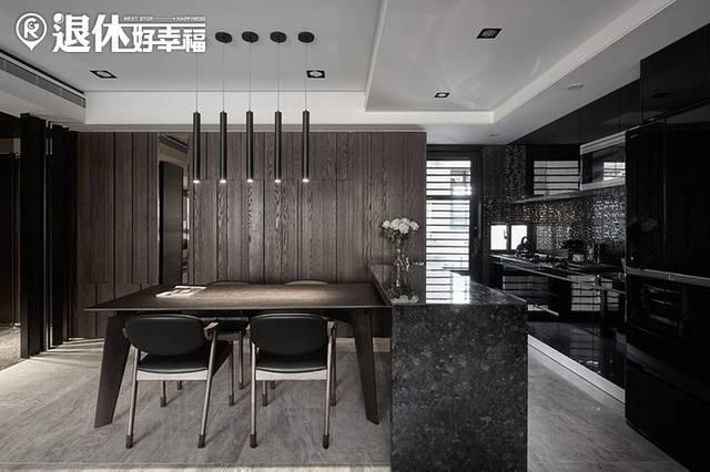 也可整合大型家具设备,例如:中岛吧台,电视墙…等,做一体成型设计,不图片