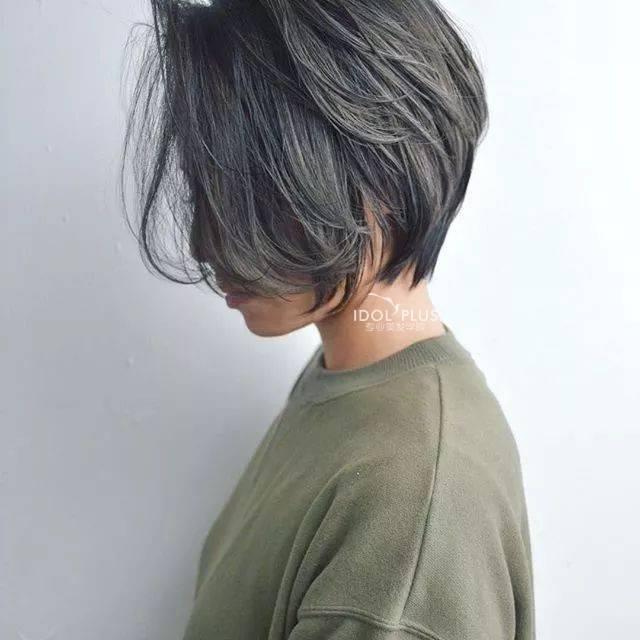 齐耳短发,2018春夏流行发型图片