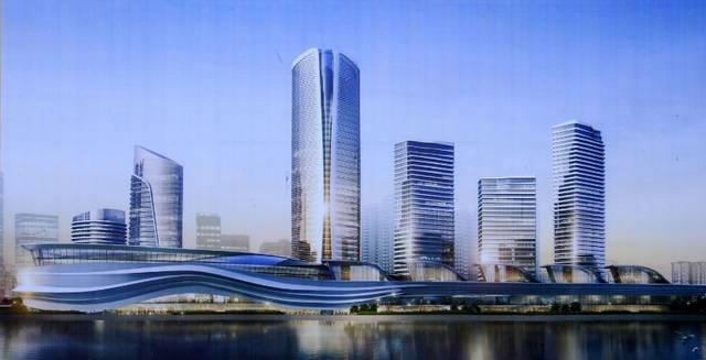 商业综合体_规划有大面积的商业综合体和写字楼