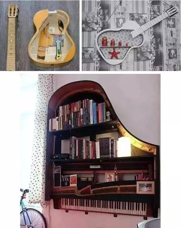 纸手工制作吉他小型