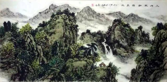 北京通州举行的善行天下╠╠中国百名爱心画家救助贫困儿童捐赠书画图片